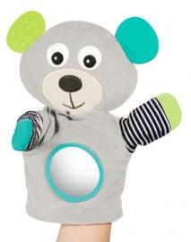 Zobu riņķis Canpol Babies Hand Pupet Bears Grey