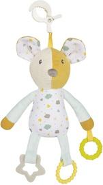 Игрушка для коляски Canpol Babies Mouse, белый/желтый