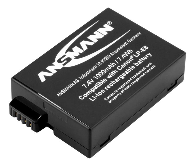 Ansmann A-Can LP-E8 1000mAh