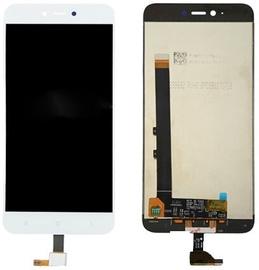 Mobilo tālruņu rezerves daļas Xiaomi Redmi Note 5A White LCD Screen