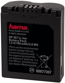 Hama DP 307 Li-Ion Battery for Panasonic CGR-S006E