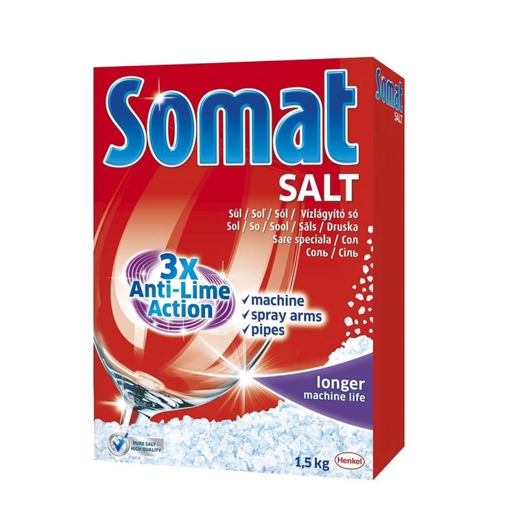 Indaplovių druska Somat, 1,5 kg
