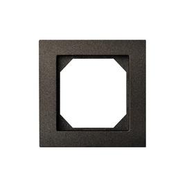 Vienvietis rėmelis Liregus Epsilon, juodos spalvos