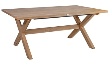 Home4you Henry Garden Table 200x100x75cm Eucalyptus