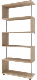 Tuckano John Shelf Unit 790x1750x330mm Sonoma Oak