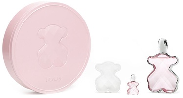 Набор для женщин Tous LoveMe 3pcs Gift Set 94.5 ml EDT
