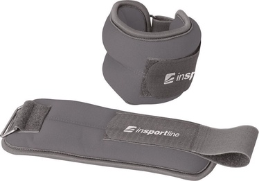 inSPORTline Lastry Neoprene Weights 2x2kg Gray