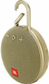 JBL Clip 3 Bluetooth Speaker Desert Sand