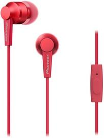 Ausinės Pioneer SE-C3T Red