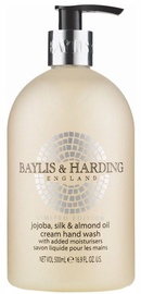 Šķidrās ziepes Baylis & Harding Jojoba, Silk & Almond Oil, 500 ml