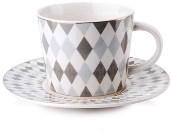 Mondex Zoe Cup And Saucer 240ml HTPS8709