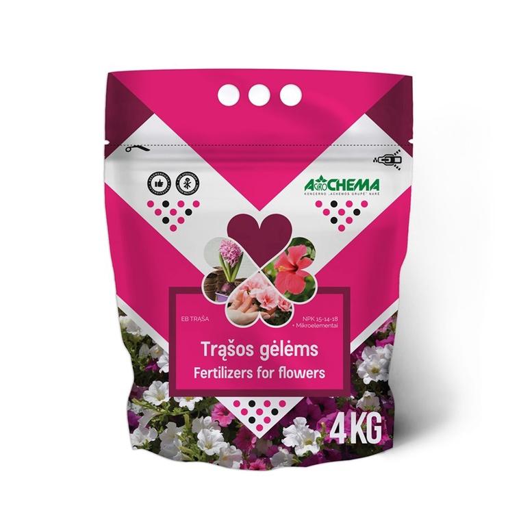 Trąšos gėlėms Agrochema, 4 kg