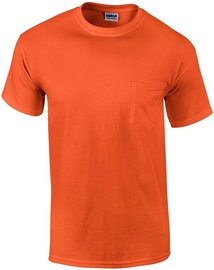 Gildan Cotton T-Shirt Orange L