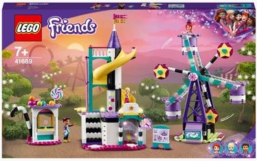Конструктор LEGO Friends Волшебное колесо обозрения и горка 41689, 545 шт.