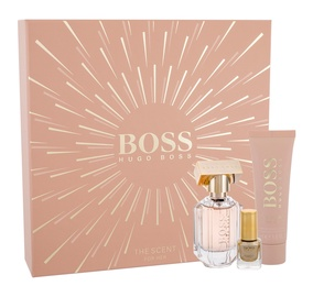 Hugo Boss The Scent For Her 30ml EDP + 50ml Body Lotion + 4.5ml Nail Polish New Design
