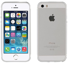 Muvit Bumper Cover For Apple iPhone 5/5s/SE Silver