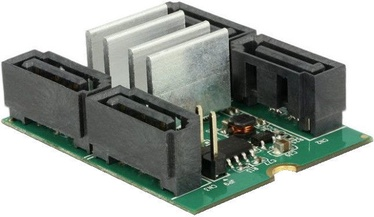 Delock M.2 To 4 x SATA RAID