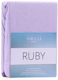 Palags AmeliaHome Ruby, violeta, 200x200 cm, ar gumiju