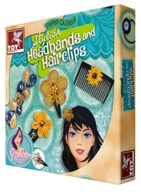 Toy Kraft Paper Quilled Stylish Headbands And Hairclips 39600