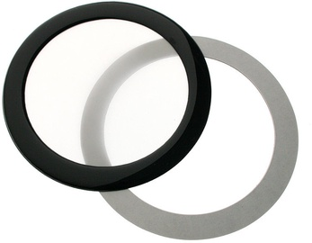 DEMCiflex Dust Filter 92mm Round Black/White DF0489