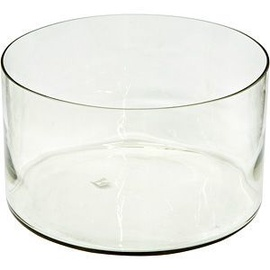 Verners Cylindrical Vase 20x34.5cm Transparent