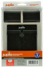 Jupio Kit 2x LP-E6 1700mAh+USB Dual Charger