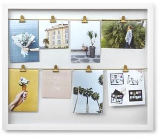 Umbra Clipline Photo Frame White