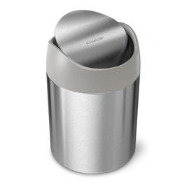 Мусорное ведро Simplehuman Mini, серый, 1.5 л