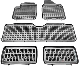 REZAW-PLAST Ford Galaxy 7-Seats 1995-2006 Rubber Floor Mats
