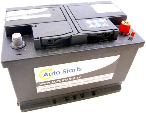 Аккумулятор Auto Starts, 12 В, 74 Ач, 680 а