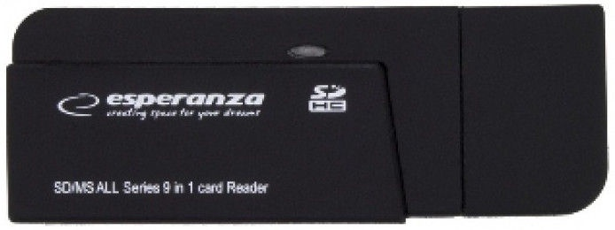 Esperanza Card Reader All in One EA128 USB 2.0