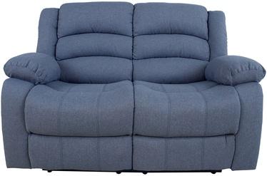 Диван-кровать Home4you Malina 13862, синий, 90 x 153 x 101 см
