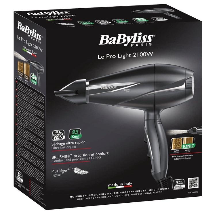 Plaukų džiovintuvas Babyliss 6609E