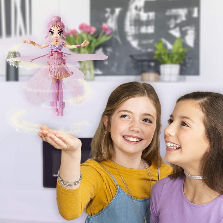 Žaislas Spin Master Hatchimals Pixies Crystal Flyers Pink