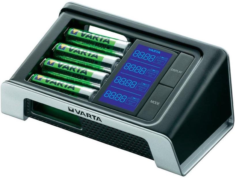 Varta Ultra Fast LCD Charger + 4xAA