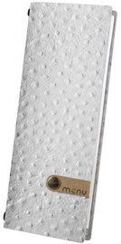 Dag Style Club Menu Cover 10.5 x 29.7cm White