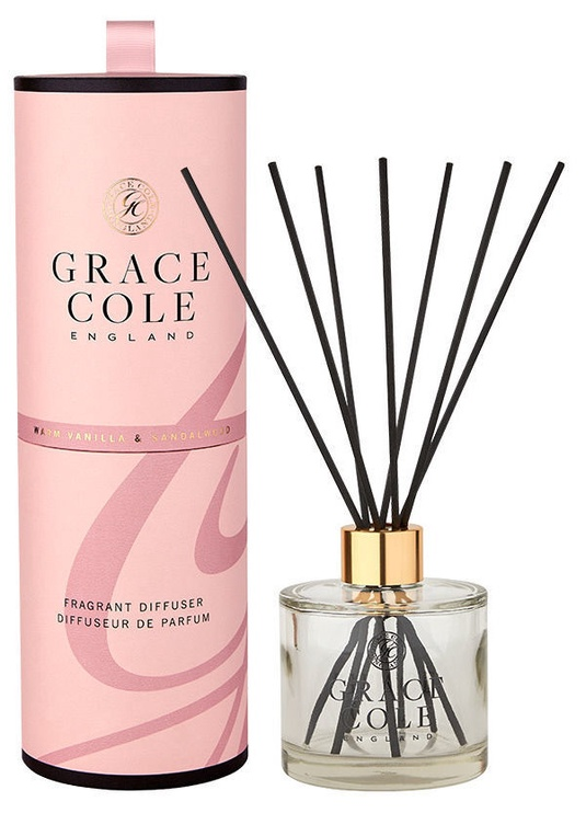 Grace Cole Reed Fragrant Diffuser 200ml Warm Vanilla & Sandalwood