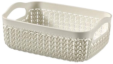 Curver Basket Knit A6 19x14x7cm White