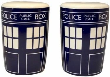 Maitseainete topsid Doctor Who Salt & Pepper Set DWHW13044