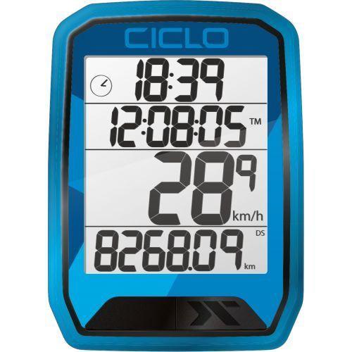 CicloSport Protos 213 Wireless Bike Computer Blue