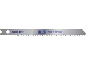 Siaurapjūklio pjūklelių komplektas Wilpu, UHC12R, 5 vnt.
