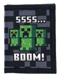 Кошелек Bioworld Minecraft, многоцветный