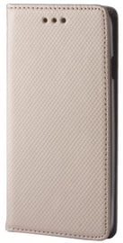 GreenGo Smart Magnet Book Case For HTC 825 Gold