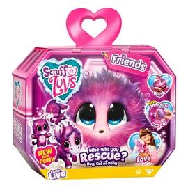 Плюшевая игрушка Moose Scruff A Luvs Friends Pink Ombre