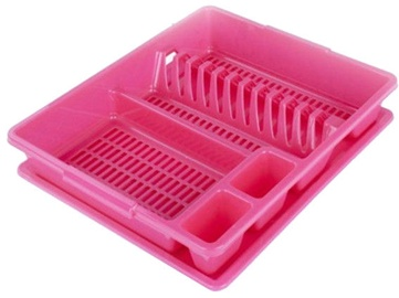Banquet Accasa DIsh Drainer 43 x 37.5cm Pink