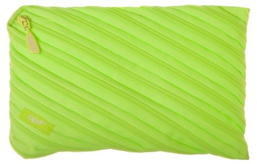 ZIPIT Neon Pencil Case Large Radiant Lime