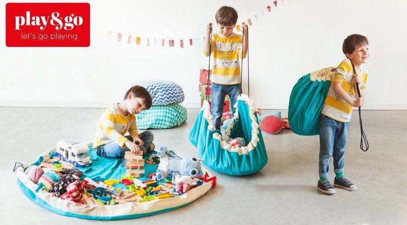 Play&Go Storage Bag Fuchsia