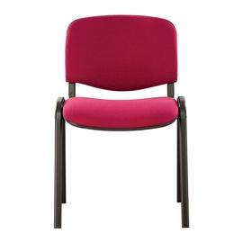 Lankytojų kėdė ISO BLACK (SENC) C-29 raudona
