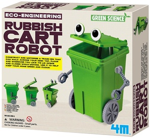 4M Eco-Engineering Rubbish Cart Robot 3371