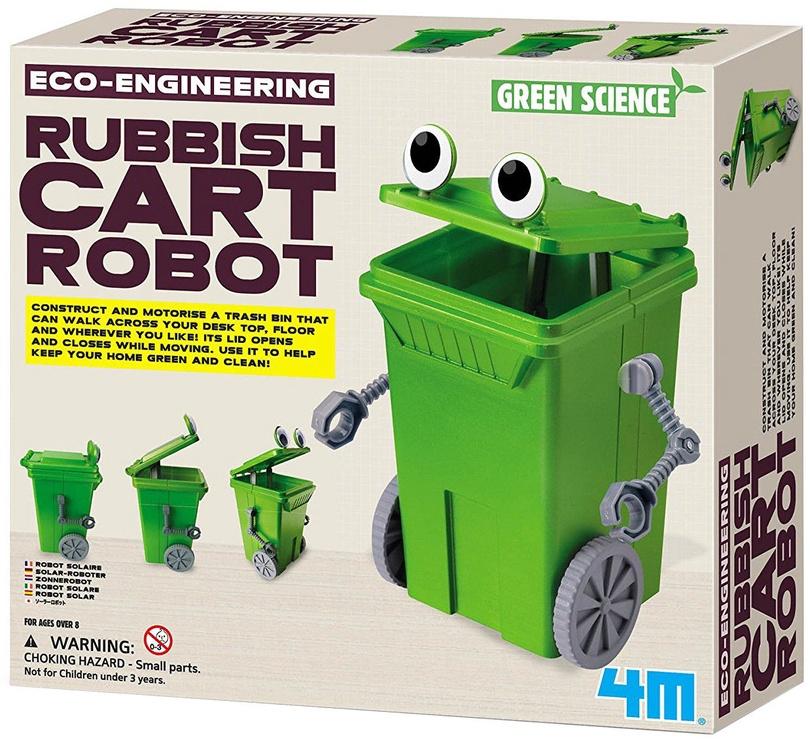 4M Eco-Engineering Rubbish Cart Robot 3371